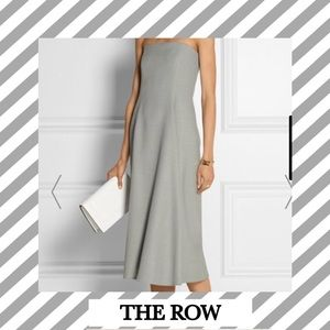 The Row Andries Wool Strapless Formal Dress